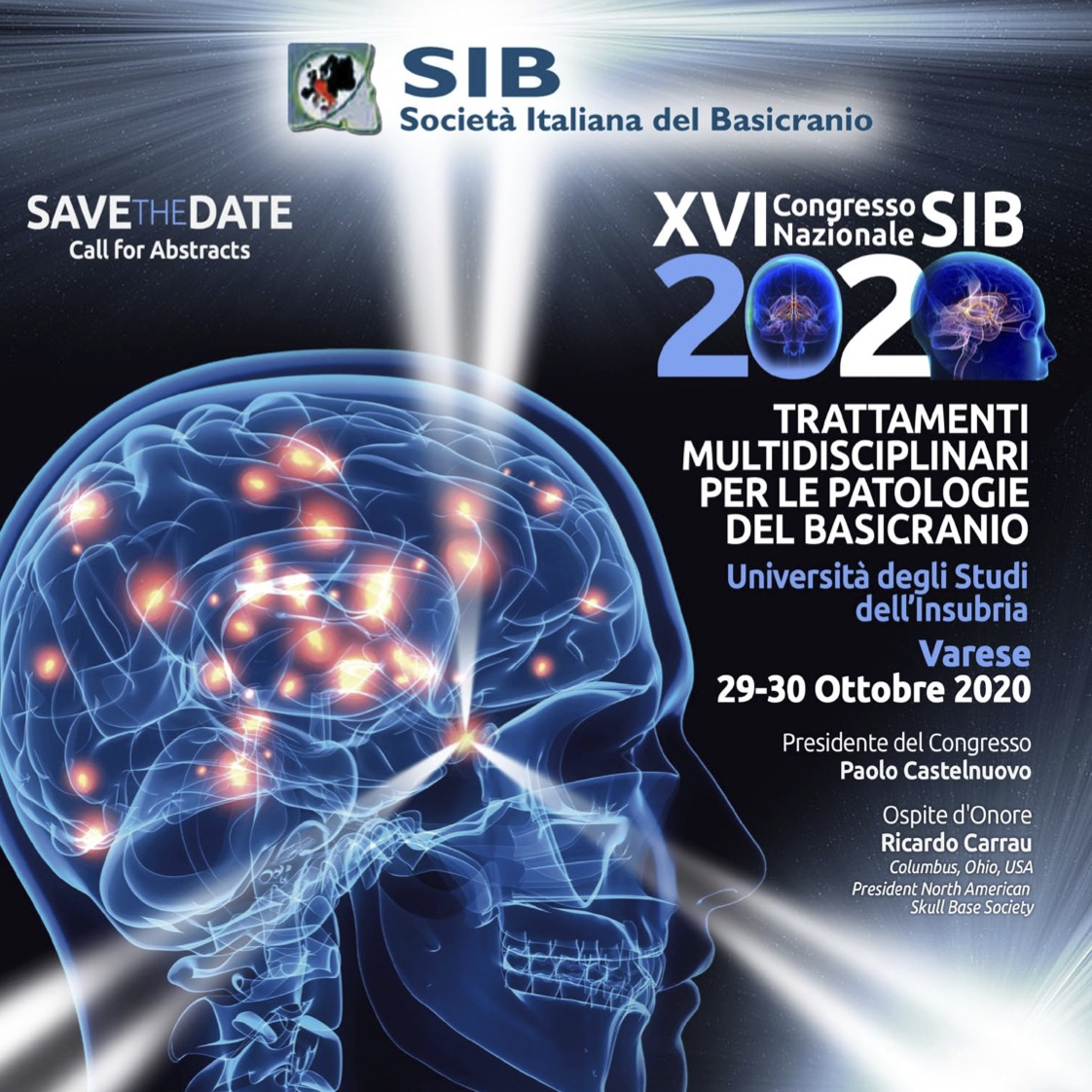 Save the date SIB 2020